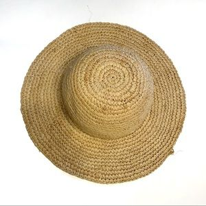 Old Navy Distresssed Floppy Straw Beach Hat